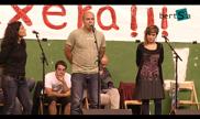 Aparkalekua. Alaia Martin, Aitor Mendiluze eta Maialen Lujanbio. Altzo 2014/07/31