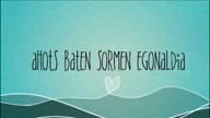 """1. """"Ahots Baten"""" sormen egonaldia 2015"""