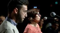 Simone Monni eta Paola Dentoni. Agurra