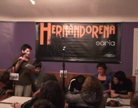 Hernandorena Saria. Lehenengo kanporaketa