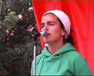 Frankismoan hildakoen omenaldia. Lujanbio eta Elortza.