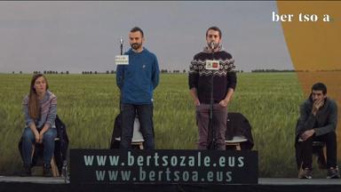 Zortziko handia. Jon Martin eta Beñat Gaztelumendi. BTN17